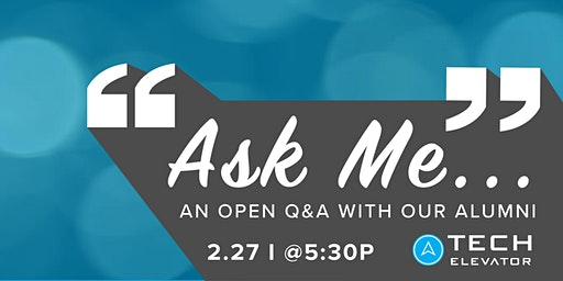 """Ask Me..."" An Open Q&A with Our Alumni - Cincinnati"