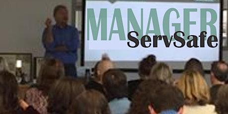 ServSafe Food Manager Training  7-28-2020 tickets