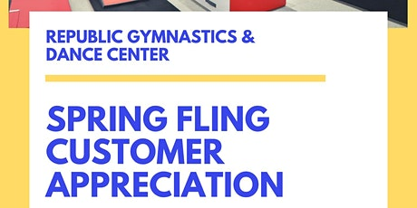 Spring Fling Customer Appreciation Event tickets