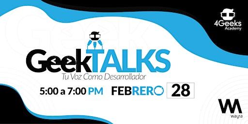 GeekTALKS: Tu Voz como Desarrollador.