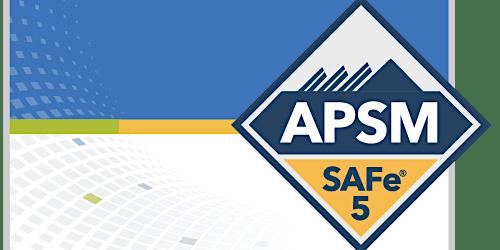 SAFe Agile Product and Solution Management (APSM) 5.0 Anchorage, Alaska