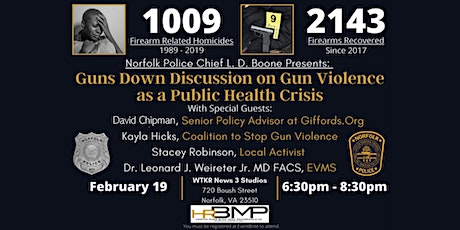 Norfolk PD Guns Down Movement Panel Discusion in Partnership with HRBMP tickets