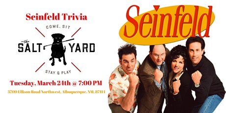 Seinfeld Trivia at The Salt Yard West tickets