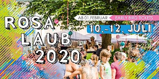 Rosa Laub Festival 2020 • Vornbach am Inn