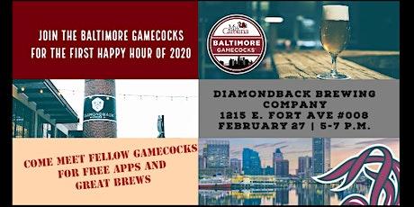 Baltimore Gamecocks: HAPPY HOUR at Diamondback Brewing Company tickets