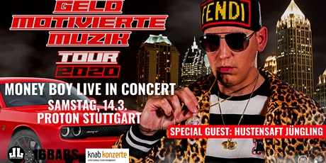 "Money Boy & Hustensaft Jüngling ""Geld Motivierte Muzik Tour"" Tickets"