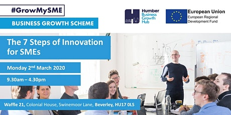 The 7 Steps of Innovation for SMEs tickets
