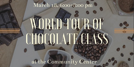 World Tour of Chocolate Class tickets