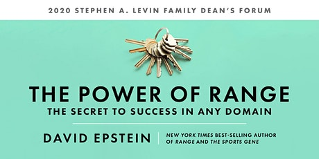 The Power of Range: The Secret to Success in Any Domain with David Epstein tickets