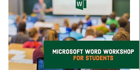 Microsoft Word Workshop tickets