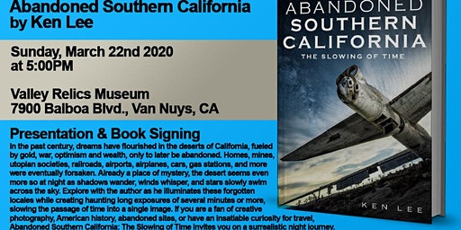 Abandoned Southern California - Presentation and Book Signing