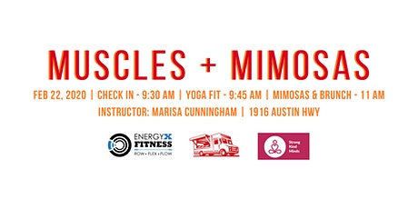 Muscles + Mimosas tickets