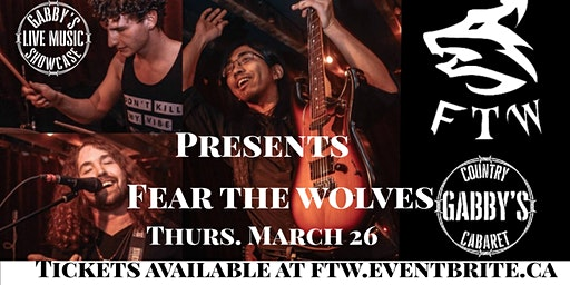 Fear The Wolves - Gabby's Live Music Showcase