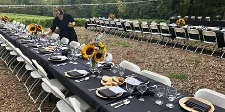 3rd Annual Dine in the Vineyard tickets