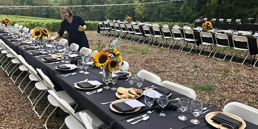 3rd Annual Dine in the Vineyard