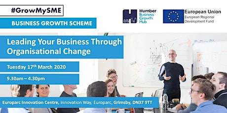 Leading Your Business Through Organisational Change tickets