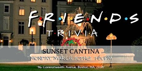 Friends Trivia at Sunset Cantina tickets