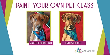 CANCELED Paint Your Own Pet | Majestic Oaks tickets