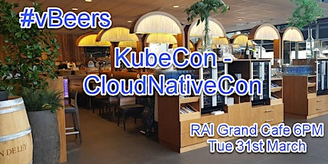 vBeers KubeCon - CloudNativeCon EU 2020 @ RAI Grand Cafe 6PM tickets