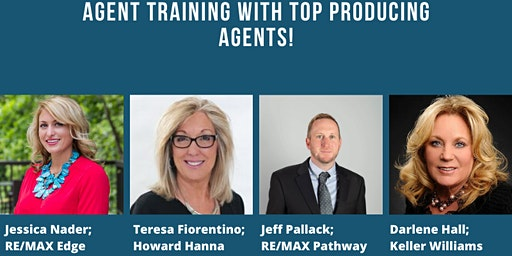 TOP AGENT PANEL: Q&A WITH AREA EXPERTS AND TOP PRODUCERS!