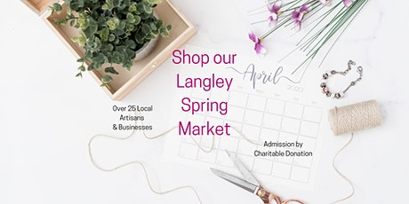 CoWorks Langley Spring Market 2020 tickets
