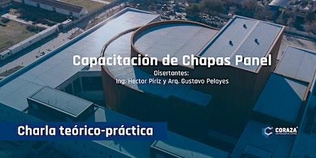 Capacitación de Chapas Panel entradas