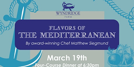 Flavors of The Mediterranean tickets