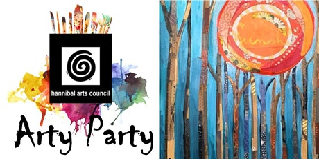 ARTY PARTY:Torn Paper Forest Collage tickets