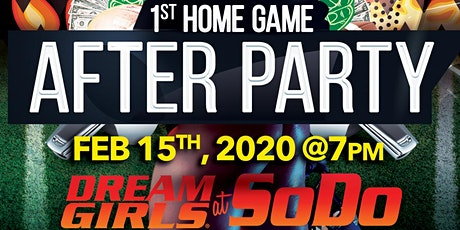 Seattle Dragons 1st Home Game After Party @Dreamgirls @SODO!!! tickets