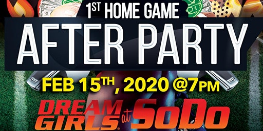 Seattle Dragons 1st Home Game After Party @Dreamgirls @SODO!!!
