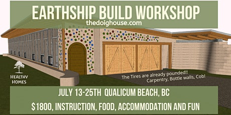 Qualicum, BC - EARTHSHIP build (Carpentry) tickets
