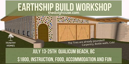 Qualicum, BC - EARTHSHIP build (Carpentry)