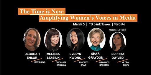 The Time is Now: Amplifying Women's Voices in Media