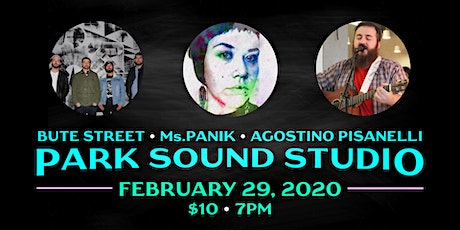 Park Sound Presents: Bute Street, Ms.PANIK, Agostino Pisanelli tickets