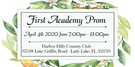 First Academy-Leesburg Prom