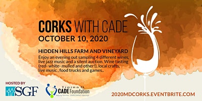 Volunteer for 2020 MD Corks with Cade
