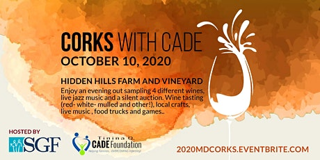 Volunteer for 2020 MD Corks with Cade tickets