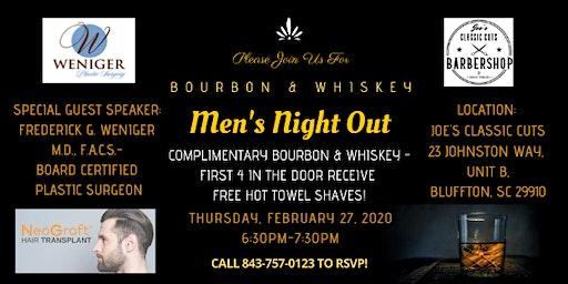 Bourbon & Whiskey - Men's Night Out