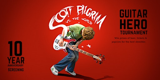 Scott Pilgrim vs the World + Guitar Hero Tournament!