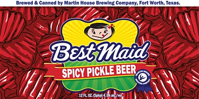 Best Maid Spicy Pickle Beer Launch!