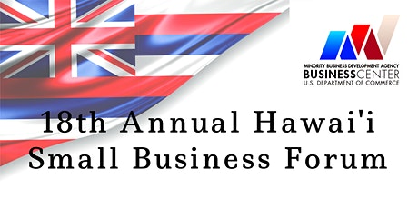 18th Annual Hawai'i Small Business Forum tickets