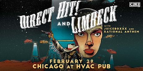 DIRECT HIT & LIMBECK Live at HVAC Pub with Juiceboxxx & Rational Anthem tickets
