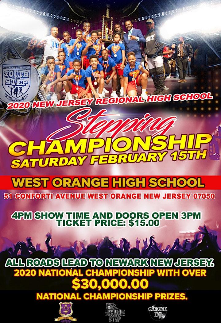 2020 New Jersey Regional High School Stepping Championship Registration image