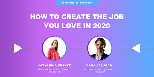 How to create the job you love in 2020