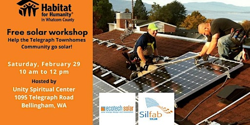Go Solar with Habitat for Humanity in Whatcom County