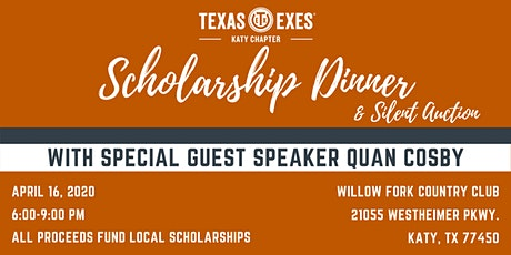 Texas Exes Katy Chapter Scholarship Dinner & Silent Auction tickets