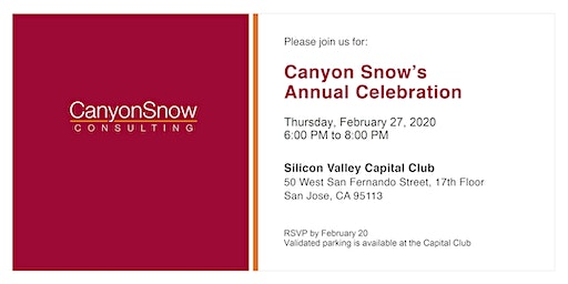 Canyon Snow Consulting's Annual Celebration