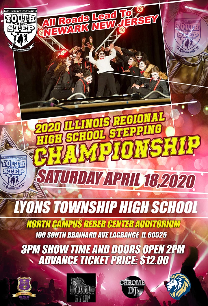 2020 Illinois Regional High School Stepping Championship Registration image