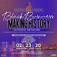 The Ultimate BLACK Business Networking Party| Sunday Funday
