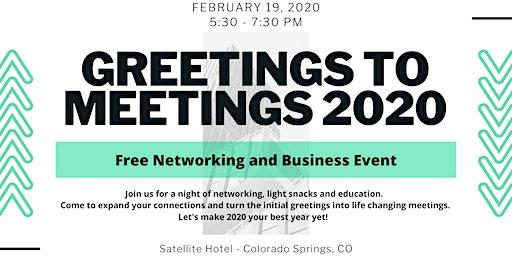 Greetings to Meetings 2020